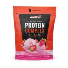 Protein Complex - 900g Refil Iogurte de Morango - New Millen