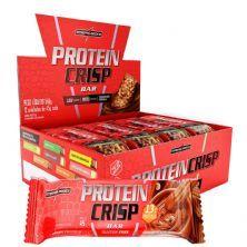 Protein Crisp Bar - 12 Unidades 45g Churros com Doce de Leite - IntegralMédica