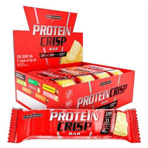 Protein Crisp Bar - 12 Unidades 45g Romeu e Julieta - IntegralMédica no Atacado