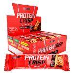 Protein Crisp Bar - 12 Unidades 45g Trufa Avelã - IntegralMédica