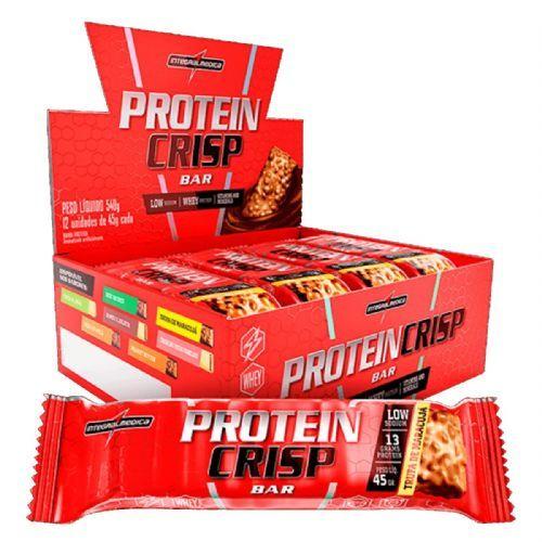 Protein Crisp Bar - 12 Unidades 45g Trufa de Maracujá - IntegralMédica no Atacado