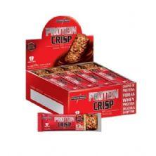Protein Crisp Bar - 12 Unidades 45g Peanut Butter- IntegralMédica