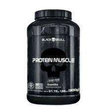 Protein Muscle - 900g Baunilha - Black Skull