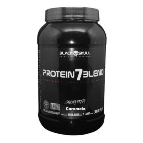 Protein Muscle - 900g Caramelo - Black Skull no Atacado