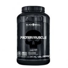 Protein Muscle - 900g Chocolate - Black Skull