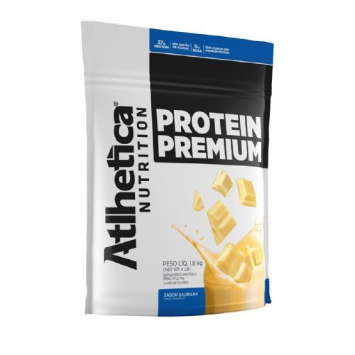 Protein Premium - 1800g Refil Baunilha - Atlhetica Nutrition no Atacado