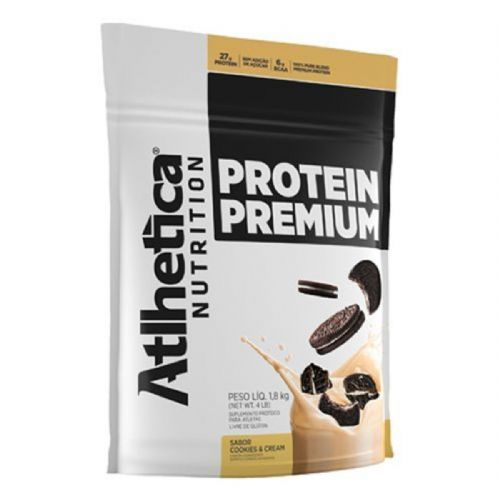 Protein Premium - 1800g Refil Cookies & Cream - Atlhetica Nutrition no Atacado
