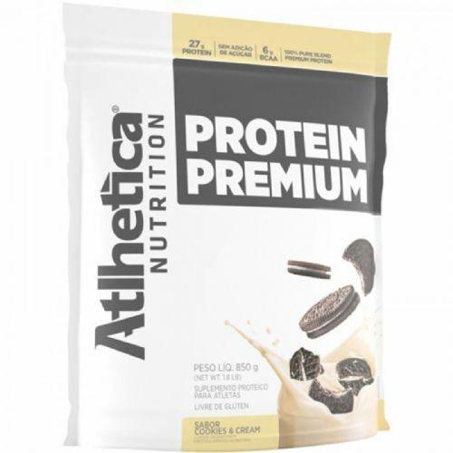 Protein Premium - 850g Refil Cookies & Cream - Atlhetica Nutrition no Atacado
