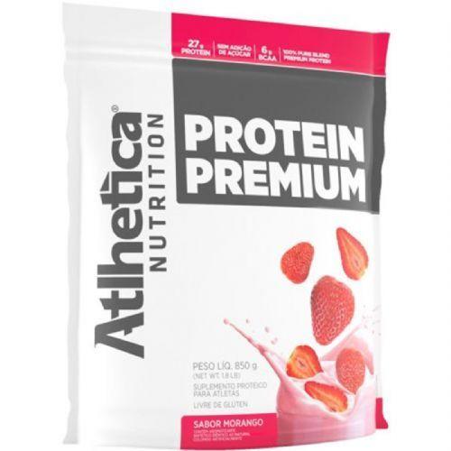 Protein Premium - 850g Refil Morango - Atlhetica Nutrition no Atacado