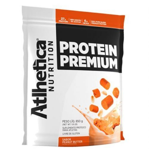 Protein Premium - 850g Refil Peanut Butter - Atlhetica Nutrition no Atacado