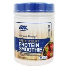 Protein Smoothie Greek Yogurt - 462g Strawberry - Optimum Nutrition