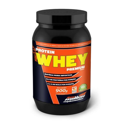 Protein Whey Premium Series   - 900G Morango - New Millen