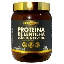 Proteína de Lentilha DÁgua e Ervilha - 400g Capim Santo Limão - Green Man