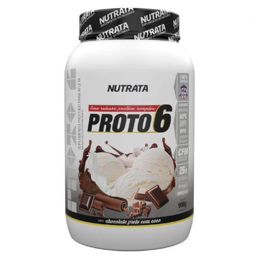 Proto 6 - 900g Chocolate Preto com Coco - Nutrata no Atacado