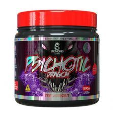 Psichotic Dragon Pre Workout - 500g Fruit Punch - Demons Lab