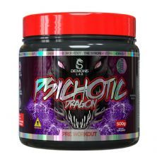 Psichotic Dragon Pre Workout - 500g Furious Cola - Demons Lab