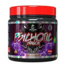 Psichotic Dragon Pre Workout - 500g Green Apple - Demons Lab