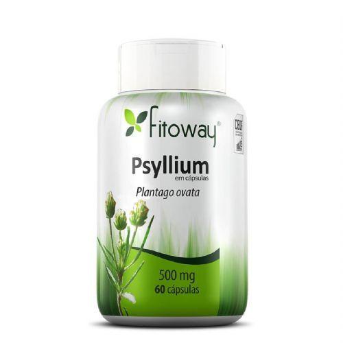Psyllium 500Mg 60 Cápsulas - Fitoway no Atacado