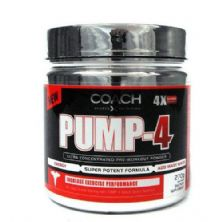 Pump-4 - 270g Guarana - Coach