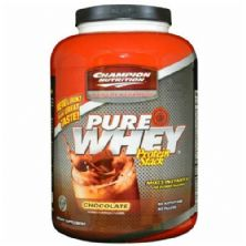 Pure Whey - Sabor Chocolate 2270g - Champion Nutrition