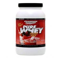 Pure Whey - Sabor Morango 1000g - Champion Nutrition