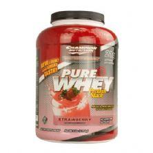 Pure Whey - Sabor Morango 2270g - Champion Nutrition
