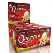 QuestBar Protein - Cx 12 barras 60g - Apple Pie - Quest Nutrition