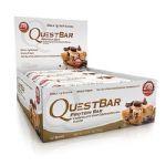 QuestBar Protein - Cx 12 barras 60g Bolinho de massa de chocolate - Quest Nutrition