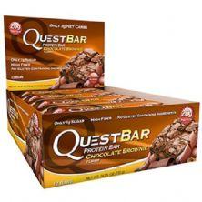 QuestBar Protein - Cx 12 barras 60g - Chocolate Brownie - Quest Nutrition