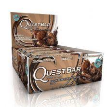 QuestBar Protein - Cx 12 barras 60g - Duble Chocolate Chunk - Quest Nutrition