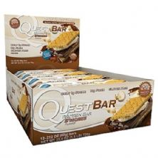QuestBar Protein - Cx 12 barras 60g - s´mores - Quest Nutrition