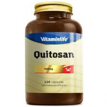 Quitosana 500mg - 120 Cápsulas - VitaminLife