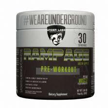 Rampage Pre-Workout - 300g Green Apple - Under Labz