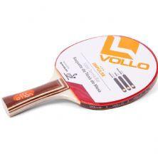 Raquete De Tênis De Mesa Impulse - Jogador Avançado Vermelha e Preta - Vollo Sports