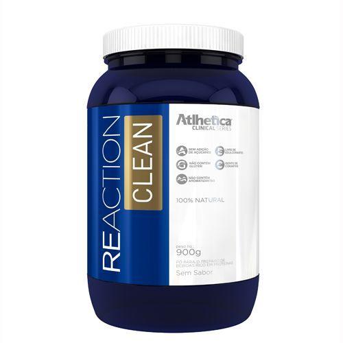 Reaction Clean - 900g Sem sabor - Atlhetica Nutrition no Atacado