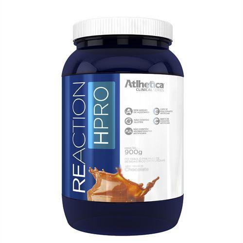 Reaction HPRO - 900g Chocolate - Atlhetica Nutrition no Atacado