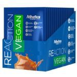 Reaction Vegan - 15 Sachês 36g Baunilha - Atlhetica Nutrition