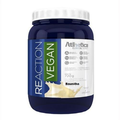 Reaction Vegan - 720g Baunilha - Atlhetica Nutrition no Atacado