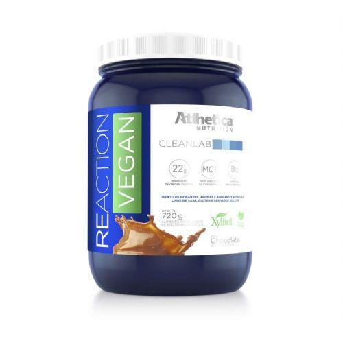 Reaction Vegan - 720g Chocolate - Atlhetica Nutrition no Atacado