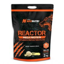 Reactor Mega Protein - 2000g Baunilha - NeoNutri