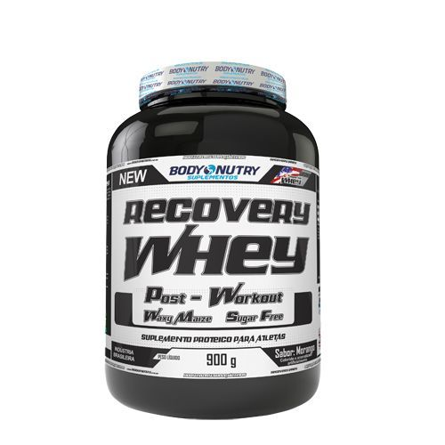 Recovery Whey Post_Workout - 900g Morango - Body Nutry