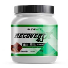 Recovery X 4:1 - 975g Chocolate - Sudract Nutrition