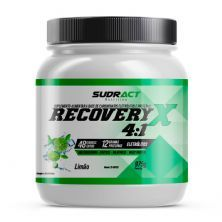 Recovery X 4:1 - 975g Limão - Sudract Nutrition