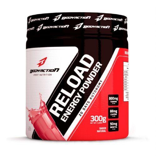 Reload Energy Powder - 300g - BodyAction no Atacado