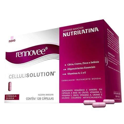 Rennovee CelluliSolution - 128 Cápsulas - Nutrilatina Rennovee