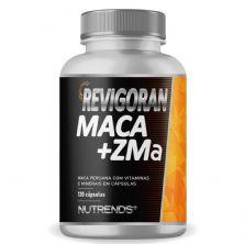 Revigoran Maca + ZMA 500mg - 120 Cápsulas - Nutrends