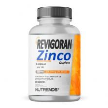 Revigoran Zinco Quelato 400mg - 60 Cáspulas - Nutrends