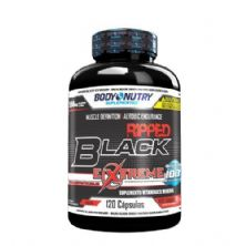 Ripped Black Extreme - 120 Cápsulas - Body Nutry