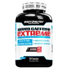 Ripped Caffeine Extreme - 120 cápsulas - Body Nutry