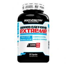 Ripped Caffeine Extreme - 60 cápsulas - Body Nutry